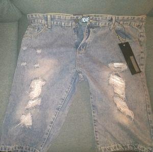 Men's True Rock Jean shorts size 40